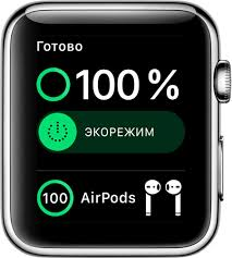 Проверка уровня заряда и <b>зарядка</b> аккумулятора Apple Watch ...