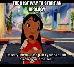 Lilo's Apology by dinochickrox on DeviantArt via Relatably.com