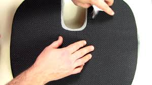 REVIEW ComfiLife <b>Coccyx Orthopedic Memory Foam</b> Office Chair ...