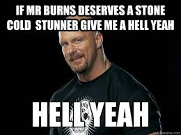 Wife says i should stop drinking beer and- stunner - Stone Cold ... via Relatably.com