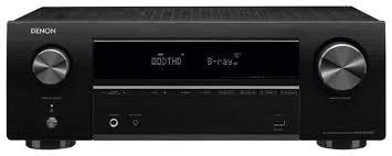 <b>AV</b>-<b>ресивер Denon AVR-X550BT</b> — купить по выгодной цене на ...