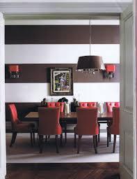 red shade dining room chandeliers