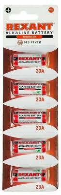 """<b>Батарейка</b> """"Rexant"""", тип 23A, 5 шт — купить в интернет-магазине ..."""