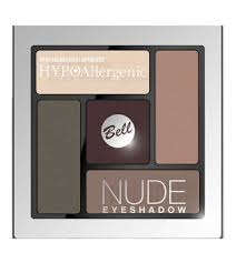 bell hypoallergenic nude eyeshadow сатиново кремовые тени для век тон 04 коричневый 5 гр