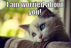 I am worried about you - quickmeme via Relatably.com