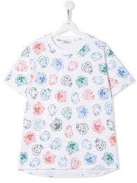 Kenzo <b>Kids</b> Футболка <b>Tiger</b> And Friends - Купить В Интернет ...