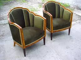 stunning art deco chairs art deco mahogany framed office chair