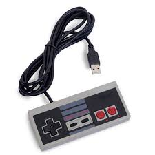 Elistooop <b>Classic USB</b> Plug <b>NES</b> wired handle controller <b>PC</b>/<b>USB</b> ...