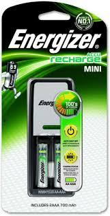 <b>Зарядное устройство Energizer Mini</b> Charger 2AAA 700mАч/6213 ...