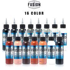 New Arrival <b>30ML</b> / Bottle <b>16 Colors</b> Long Lasting Tattoo Ink Fast ...