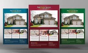 luxury homes real estate flyer flyer templates on creative market real estate flyers template