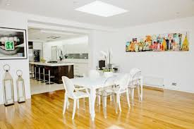 White Dining Room Chairs Modern White Dining Room 10913