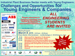 one year interviews in one day companies meet young one year interviews in one day companies meet young engineers and engineering students 5 2017 genova meeting