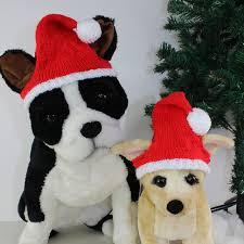Dog Christmas Santa Hat pattern by Christine Grant - Ravelry