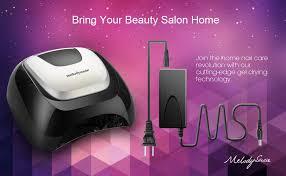 MelodySusie LED UV Nail Lamp Salon, Professional ... - Amazon.com