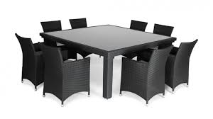 person dining room table foter: letizia  seater square outdoor dining set