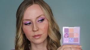 SWATCHES DUPES <b>Huda Beauty</b> Pastel Obsessions <b>Lilac</b> 2 Looks ...