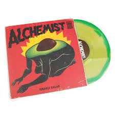 the alchemist i salad colored vinyl vinyl lp the alchemist i salad colored vinyl vinyl 2lp