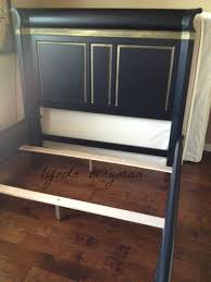 then she asked if i would paint her brown stained furniture black and gold the furniture was really beautiful but jackie wanted it black and gold black painted bedroom furniture