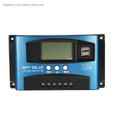 <b>24V 12V Auto</b> Solar Panel Battery Charge Controller <b>60A 50A 40A</b> ...