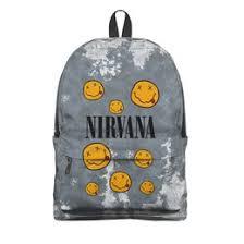 """Рюкзаки c авторскими принтами """"<b>nirvana</b>"""" - купить в интернет ..."""