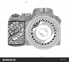 Small Picture Free Adult Coloring Pages Camera coloring page