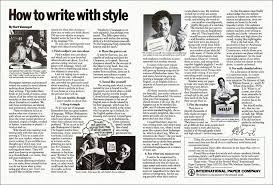 how to write style rdquo kurt vonnegut biblioklept kv