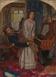 william holman hunt s the awakening conscience f eacute licien rops the awakening conscience 1853