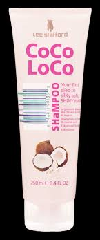 <b>CoCo LoCo</b> SHaMPOO · <b>CoCo LoCo</b> · <b>Lee Stafford</b> · The Hairdresser