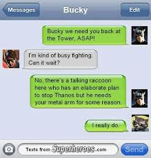 Captain America Asks Bucky To Help Stop Thanos | Guardians Of The ... via Relatably.com