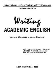 Writing Academic English  Answer Key  Ann Hogue                    Tesl Books