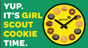 My plan to support one lucky girl in the 2017 Girl Scout Cookie sale...
