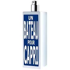 OSMOZ, Un <b>Bateau</b> pour Capri's <b>Eau d'Italie</b>