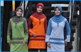 Bisa menjadi pilihan buat kaum hawa yang beragama Muslim serta selalu memakai pakaian tertutup