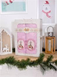 """Подарочный комплект <b>банных полотенец</b> """"Париж"""" Adellina Home ..."""