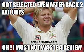 Shane Watson | Cricket Trolls - Funny Cricket Trolls, Memes and News via Relatably.com