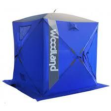 Купить <b>Зимняя палатка куб WOODLAND</b> ICE FISH 4, 180х180х200 ...