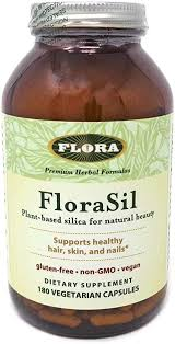 FloraSil for Hair, Skin, and Nails, 180 Capsules ... - Amazon.com