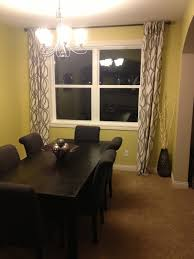 Dining Room Curtain Our Styled Suburban Life Dining Room Curtains