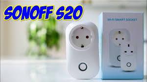 <b>SONOFF</b> S20 Smart WiFi <b>Socket</b> - умная Wifi <b>розетка</b> - YouTube