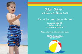 pool party invitations templates ideas invitations ideas template pool party invitations printables