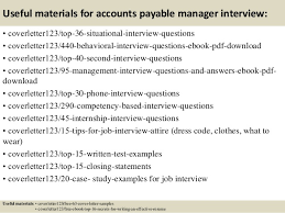 top 5 accounts payable manager cover letter samples account payable associate cover letter