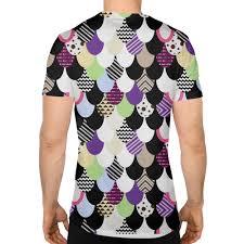 <b>Спортивная футболка 3D</b> Абстрактная драконья чешуя #3095239
