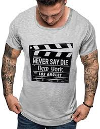 Big Sales Anewoneson Mens <b>Summer Print Short Sleeve</b> Fashion ...