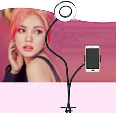 <b>Mobile Live Broadcasting</b> Stand Multifunctional Fill Light Anchor ...