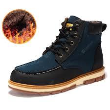 AILADUN <b>New Winter Outdoor</b> Big Yards Fashion Men's Boots Shoes