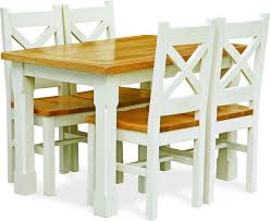 Space Saving Dining Room Tables And Chairs Two Tone Dining Room Table Inexpensive Two Tone Extendable Wooden