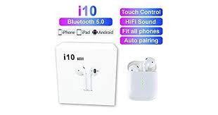 <b>New Arrival</b> i10 TWS Realtek Smart Bluetooth <b>Wireless Magnetic</b> ...