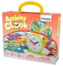 Стоит ли покупать Настольная <b>игра Miniland</b> Часы Activity Clock ...