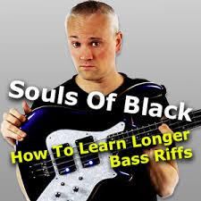 <b>Testament</b>: <b>Souls Of</b> Black - Bass Tab and Lesson - TalkingBass